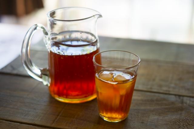 ニキビと麦茶