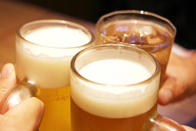 ホワイトニングとビール
